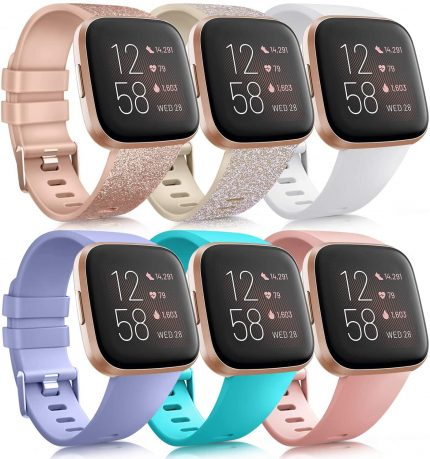 Replacement Band Compatible Fitbit Versa//Fitbit Versa 2//Fitbit Versa Lite